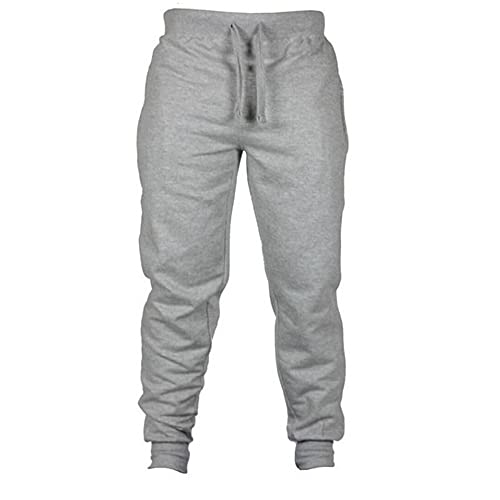 N\P Mens Joggers Casual Pantalones Fitness Hombres Ropa Deportiva Chándal Bottoms Skinny