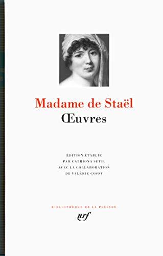 Oeuvres- - Madame de Staël