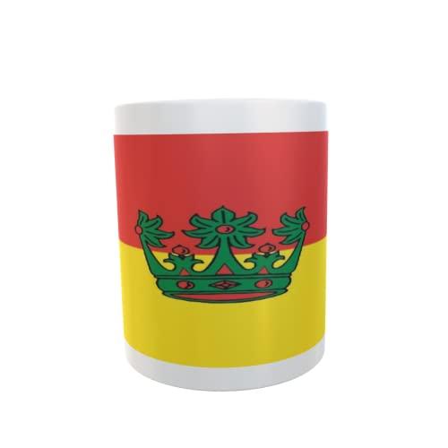 U24 Tasse Kaffeebecher Mug Cup Flagge Rodenbach im Taunus