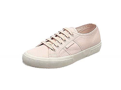SUPERGA 2750 Cotu Classic Sneaker, Scarpe da Ginnastica Uomo, Bianco Gold, 43 EU