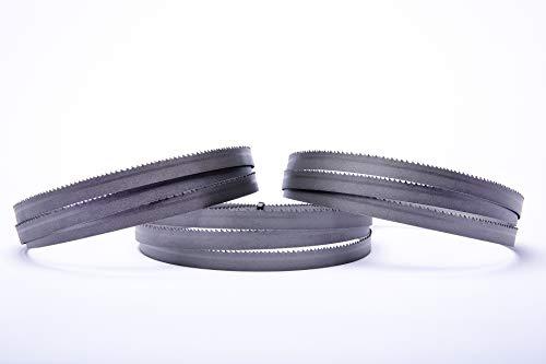Lot de 3 lames de scie à ruban Encut M42 - Haute performance - 1435 x 13 x 0,65 mm - 10-14 dpp