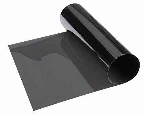 Foliatec 1225 Topstripe Blendstreifen, grau-schwarz, 15 x 152 cm