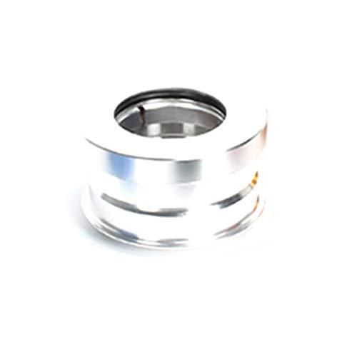 wivarra 44mm CNC Folding Mountain Bike Headset Internal Sealed Bearing Folding Bike Headset Bowl Series for SP8 SP18 Silver