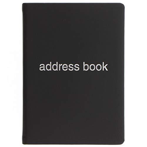 LETTS Dazzle A6 książka adresowa czarna