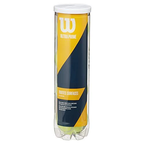 【Amazon.co.jp 限定】Wilson(ウイルソン) 硬式テニスボール ウルトラ プライム 4ボール缶 WRT119000 ウィルソン