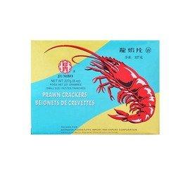 JUMBOえびせんべい 赤 227g /大昌貿易行(2箱)
