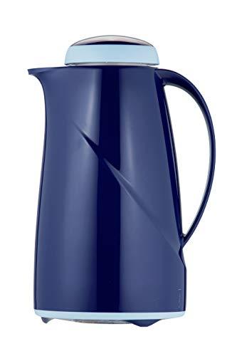Helios Wave S + Kunststoff Isolierkanne Drehverschluss blau 1,0 l spülmaschinenfest