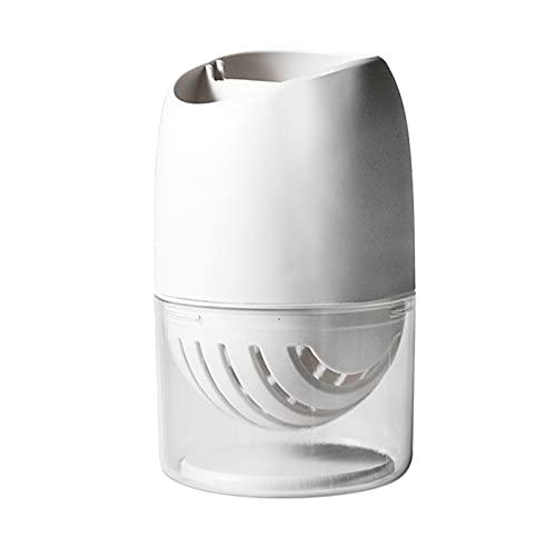 perfk Portaposate in plastica Portaposate Scolapiatti per Tavolo da Cucina, armadietto, dispensa per forchette, coltelli, cucchiai, Uso Interno o Esterno - Bianca