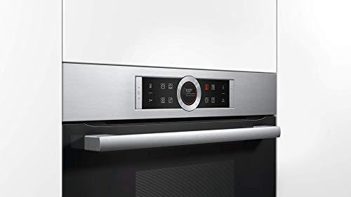 Bosch CDG634AS0 Serie 8 Dampfgarer / 38 L / 1,3 L Wassertank / Edelstahl / Klapptür / TFT-Display / AutoPilot 20 / SoftClose / SoftOpen