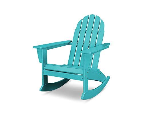POLYWOOD Vineyard Adirondack Rocking Chair (Green)
