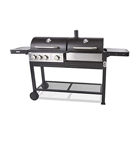 Dual Fuel BBQ Gas and Charcoal