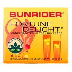 Fortune Delight® Lemon 10/3 g Packs (0.10 oz./3 g each bag)