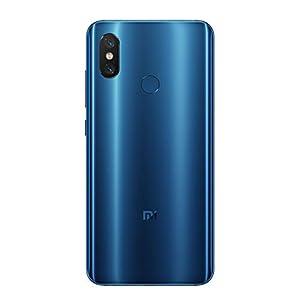 """Xiaomi Mi 8 - Smartphone de 6.21"""" (Octa-Core Kryo 2.8 GHz, RAM de 6 GB, Memoria de 64 GB, cámara de 20 MP, Android 8.0) Color Azul [Versión española]"""
