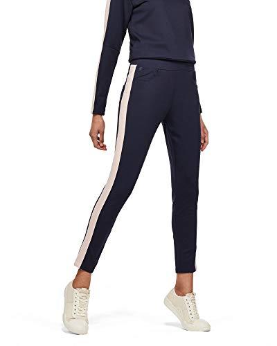 G-STAR RAW Damen D-STAQ Stripe Sweatpants Sporthose, Blau (Sartho Blue/Pyg 9298-A385), M