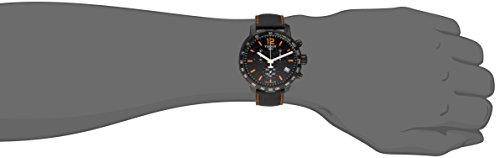 Tissot Montre-Bracelet à Quartz Chronographe pour Homme Cuir T095.417.36.057.00