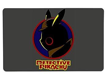 Nurdtyme Detective Pikachu Large Mouse Pad Pop Culture Inspired 10  x 16  x 1/8 Desk Mat