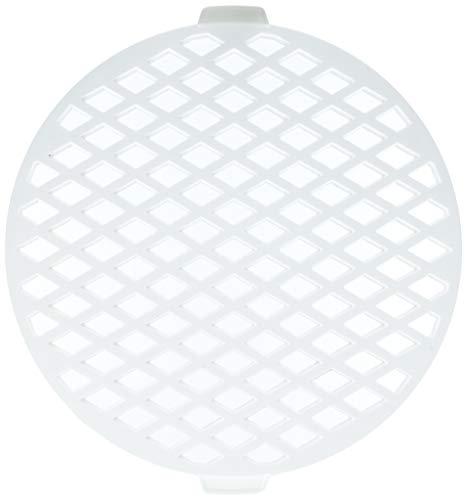 Staedter rund Gitterstanze, Plastik, weiß, 30 x 30 x 30 cm