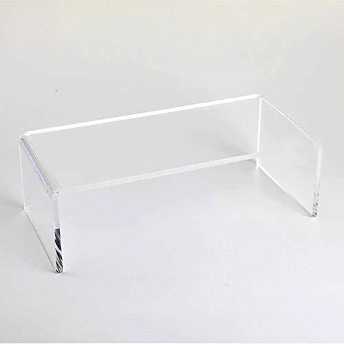 JKGHK Expositor Soporte De Acrílico Transparente Adecuado para Exhibición De Joyería Artesanal Y Almacenamiento De Escritorio 8Cm De Ancho,18cm x 8cm x 4cm