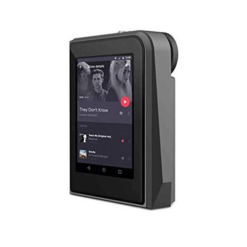 Sdesign Reproductor de MP3 16GB con Pantalla táctil de 2.5 Pulgadas Player MP4 Player de Alta resolución Audio Digital Digital Walkman con Video e-Book Grabación Digital FM Radio SD Tarjeta Slot