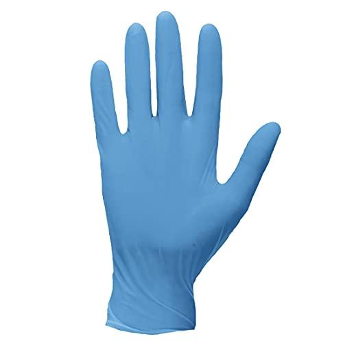 Portwest - Guantes desechables de nitrilo extra resistentes sin polvo, color azul (1 par) extra grandes