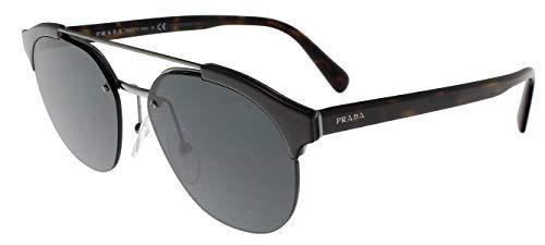 Prada 0PR 51VS Gafas de sol, Brown/Gunmetal, 54 para Hombre