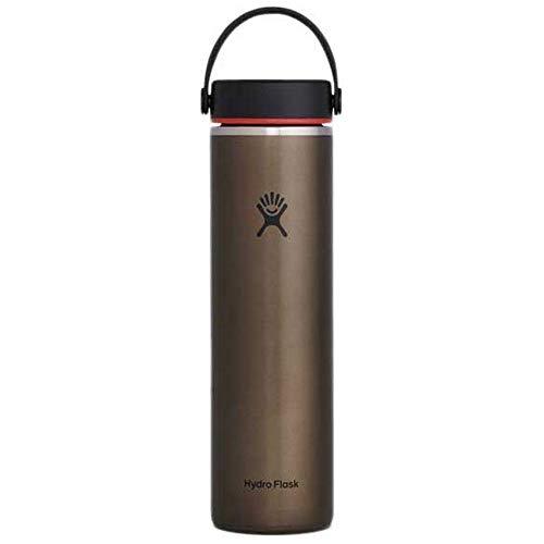 Hydro Flask Bouteille légère à large goulot 680 ml, LW24LW080, Obsidian, 24oz (709ml)