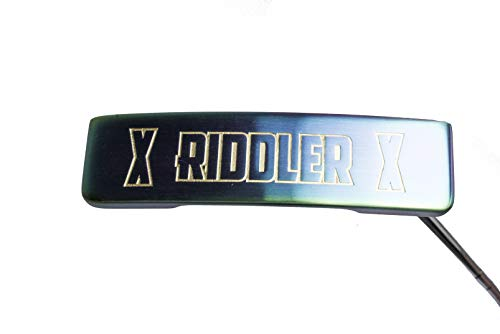 Rife Golf Right Handed Riddler Tropical Blade Putter Precision Tour Milled Face Edge & Cavity Ensures an Ideal Weight Distribution and Balance Perfect for Lining Up Your Putts (Right, 35)