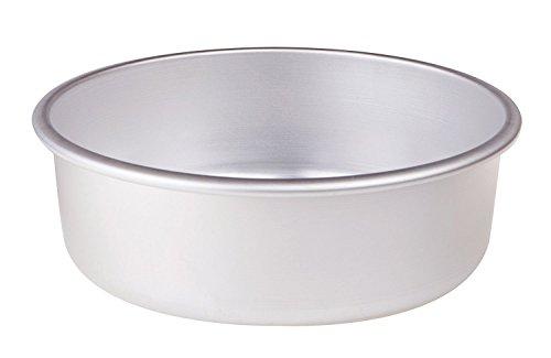 Pentole Agnelli FAMA43/826 Moule à gâteau Conique avec Rebord, Aluminium, 26 X 26 X 8 cm