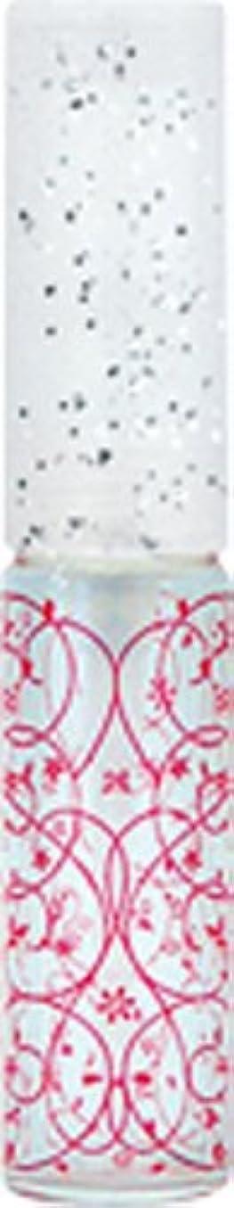 のどつなぐ呼ぶ50441 【ヤマダアトマイザー】 グラスアトマイザー プラスチックポンプ 柄 アラベスク レッド