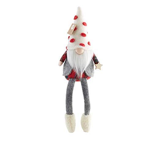 Mud Pie Christmas Dangle Leg Gnome (Vest)