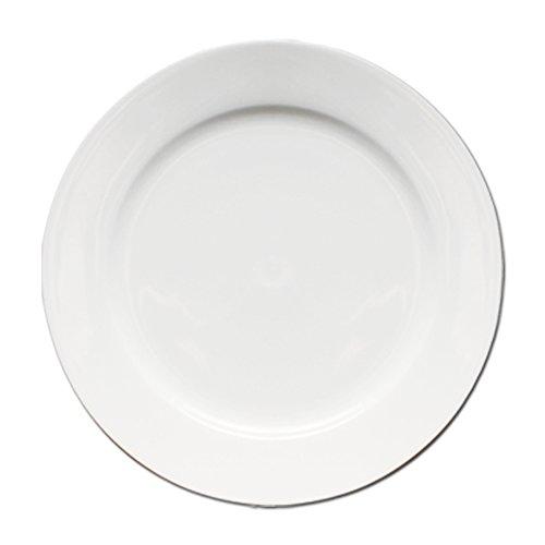 Eñe Chun Assiette Plate, 25 cm Blanc