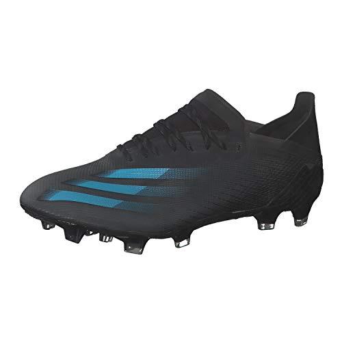 adidas X GHOSTED.1 FG, Zapatillas de fútbol Hombre, NEGBÁS/CIASEN/GRISEI, 42 EU