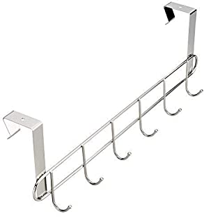 Pro Chef Kitchen Tools Stainless Steel Over Door Towel Rack - Set of 2 Bar Holders for Universal fit on Cabinet Cupboard Doors to Hold Hand and Dish Towels with No Hole Drilling Required (B01KKG23RQ) | Amazon price tracker / tracking, Amazon price history charts, Amazon price watches, Amazon price drop alerts