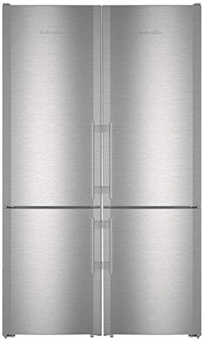 Liebherr 48' Side-by-Side Refrigerator with 24' CS1321R and 24' CS1321 Bottom Freezer Refrigerators, 990036800 Top Vent and 990155500 Side-by-Side Installation Kit