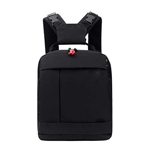 XYDBB Rugzak voor camera, waterdicht, outdoor, een schoudertas, reistas, voor camera-accessoires, Blanco Y Gris (zwart) - XYDBB-AE177