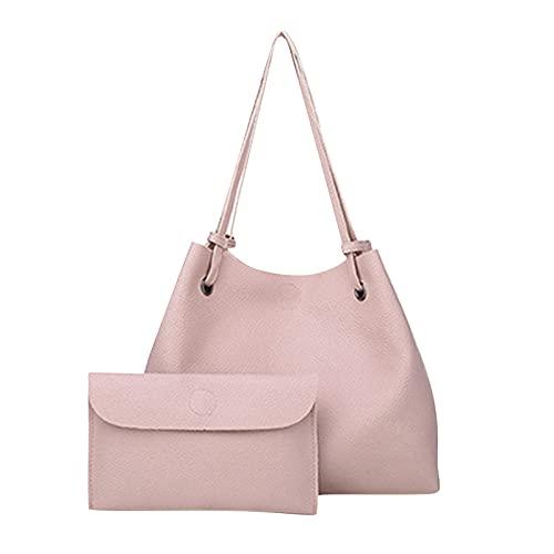 Bolso de mujer Conjunto de 2 piezas Bolso de hombro Bolso de mano Bolsos de compras