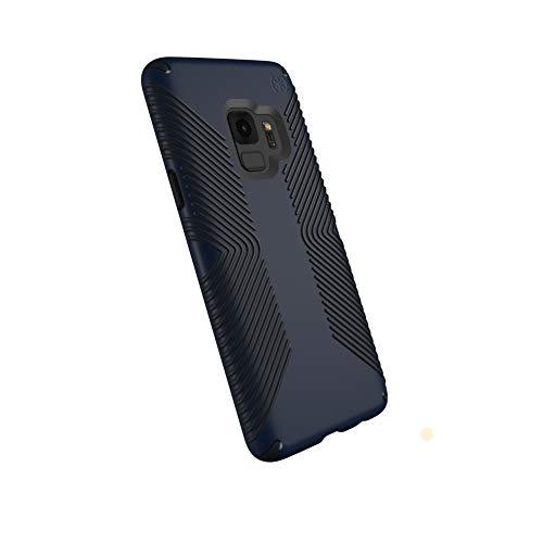 Speck Presidio Grip Samsung Galaxy S9 Case, Eclipse Blue/Carbon Black