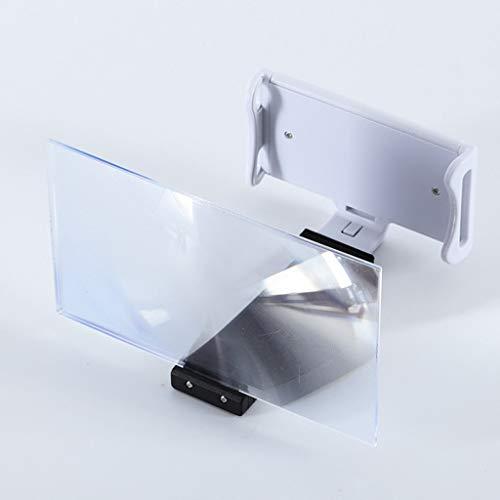 Mobiel telefoonframe met vergrootglas voor de telefoon, universele houder voor zwanenhals, lange arm en versterker voor montage van het telefoonscherm met het vergrootglas