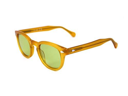 X-LAB occhiali da sole 8004 stile moscot Occhiali da sole uomo Unisex (Giallo, Verde)
