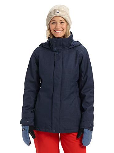 Burton Womens Jet Set Jacket, Dress Blue, Medium
