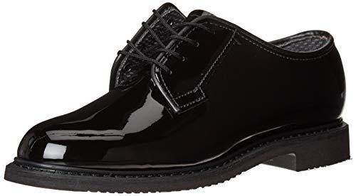 Bates Lites Black High Gloss Oxford Women 9.5 Black