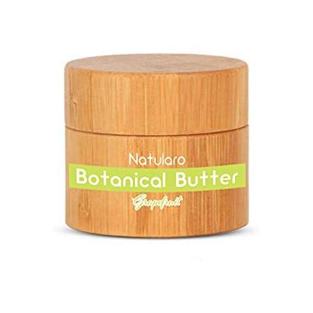 ナチュラロ NATULARO ボタニカル バター 50g ヘアスタイリング剤 オーガニック シアバター バーム 全身使用可 (グレープフルーツ精油)