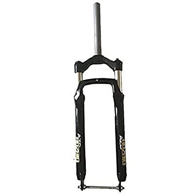 """Bike Snow Fat Fork – Fat Aluminum Suspension Bicycle Fork Fit 264.0"""" Tire for Snow & Beach Cycling"""