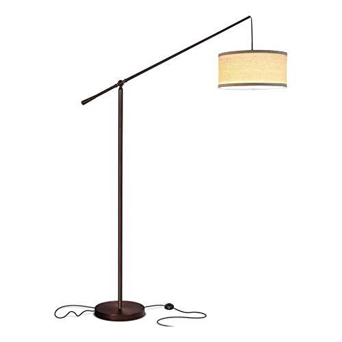 Zytyek Lámpara de pie Salon Lámpara de LED de la Sala Arco Lámparas de pie por detrás del sofá Polo luz Colgante de Ponerse de pie sobre el sofá del Dormitorio de Oficina de pie de Pie Luces