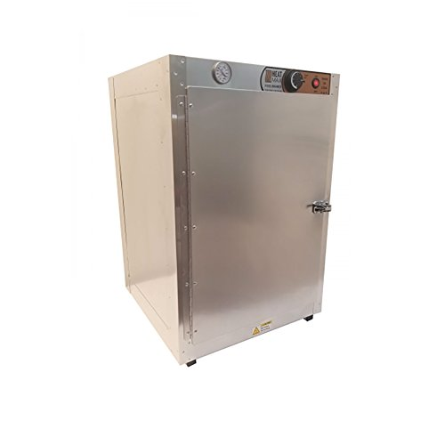HeatMax 191929 Food Warmer Hot Box Concession Warmer Pizza Warmer Great for Fund Raising Shelves are 16quotW x 185quotD