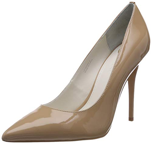 Buffalo London Damen 11335X-269 L Pumps, Beige (Nude 01), 39 EU