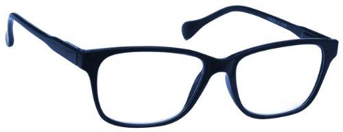 UV Reader Marineblau Leicht Komfortables Lesebrille Designer Stil Herren Frauen UVR027 +1,50