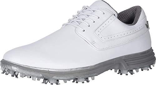 Callaway Men's LaGrange Golf Shoe, White, 11 Wide
