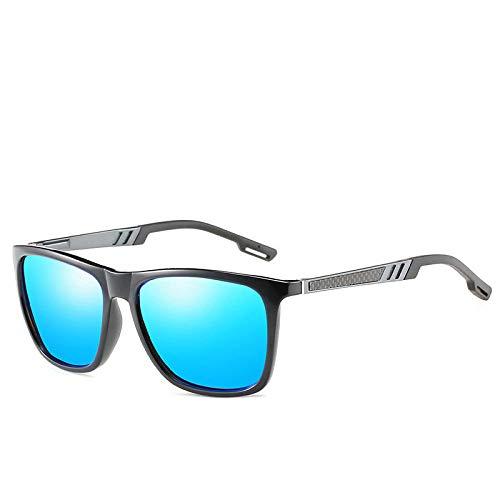 Gafas De Sol Gafas De Sol Clásicas para Hombres De Conducción Al Aire Libre Vintage Gafas De Sol-Gunblue