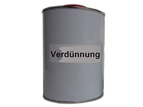 Verdünnung für 2K Lacke 2 Komponenten Lacke 500ml 1000ml 1L (5 Liter)